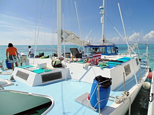 Cozumel Catamaran Sail and Snorkel Excursion