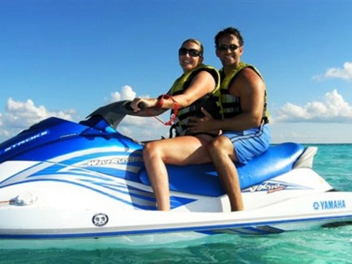 Cozumel floating water toys Excursion Tickets