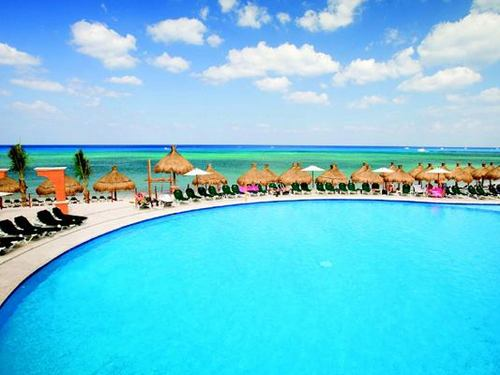 Cozumel large pool area Tour Booking