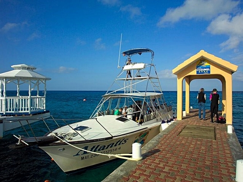 Cozumel Mexico beach and pool area Trip Cost