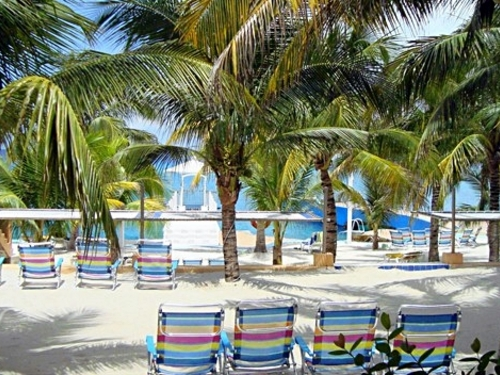 Cozumel Mexico beach and pool area Trip Tickets