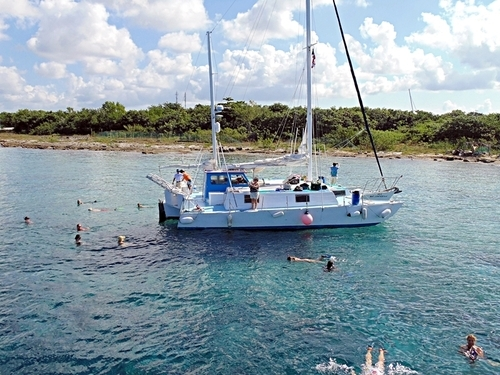 Cozumel Mexico catamaran sailing Shore Excursion Reservations