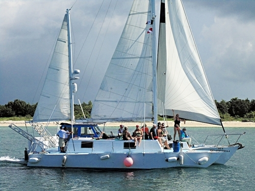 Cozumel Mexico catamaran sailing Tour Reservations