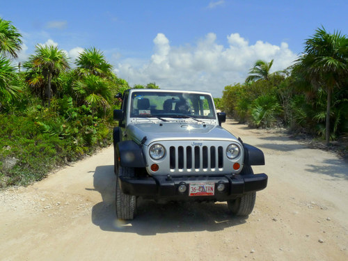 Cozumel  Mexico jeep Trip Reservations