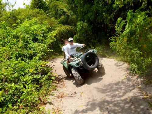Cozumel Mexico dirt trails,mangroves and beach Tour Booking