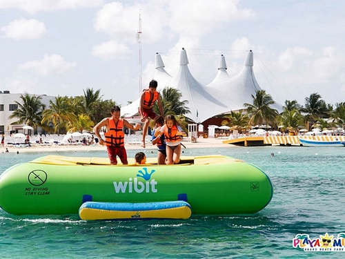 Cozumel Mexico Floating Water Park Excursion Reservations
