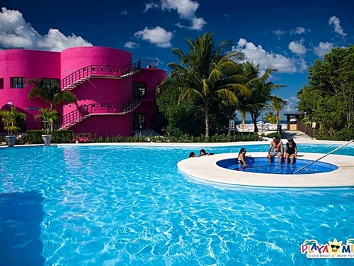 Cozumel Mexico floating water park  Shore Excursion Reviews