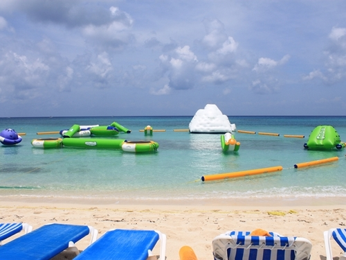 Cozumel Mexico floating water toys Cruise Excursion Tickets