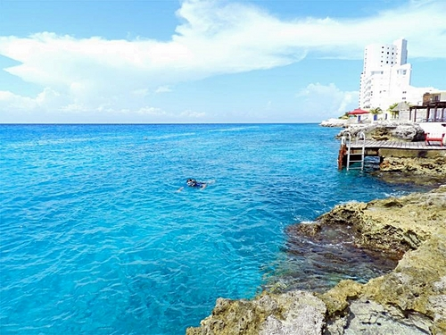 Cozumel Mexico fresh water pool Tour Cost
