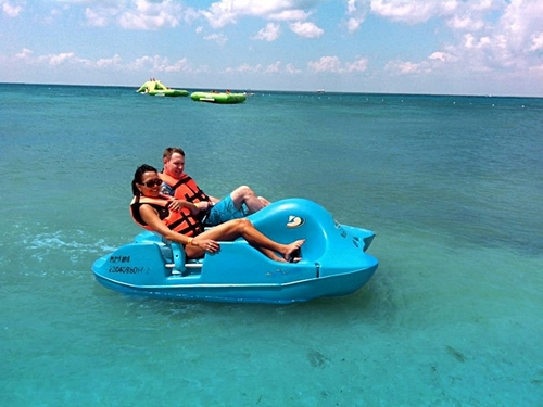 Cozumel Mexico kids water park Trip Cost