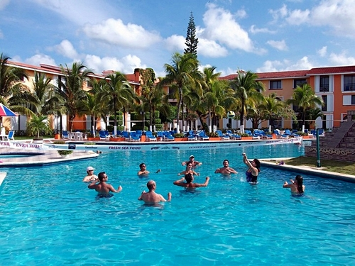 Cozumel Mexico largest resort swimming pool Excursion Booking