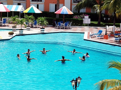 Cozumel Mexico largest resort swimming pool Tour Tickets