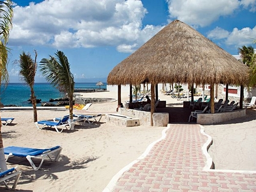 Cozumel Mexico largest resort swimming pool Trip Booking