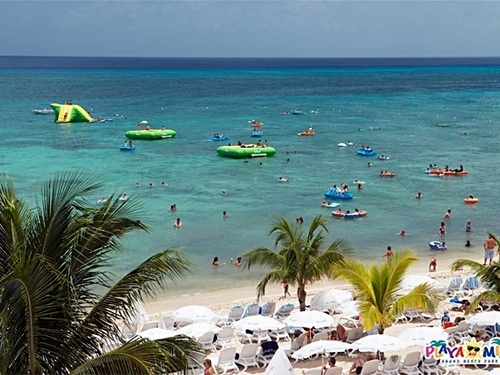 Cozumel Mexico Playa Mia Beach Break Cruise Excursion Reservations