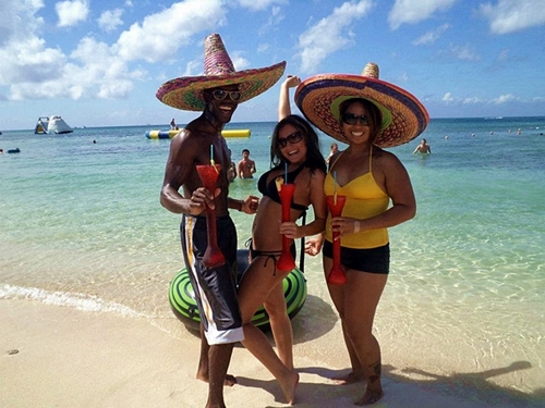 Cozumel Mexico use of club facilities Excursion Tickets