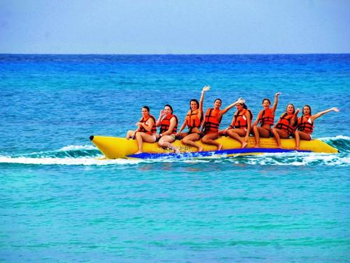 Cozumel Mexico water trampolines Tour Booking