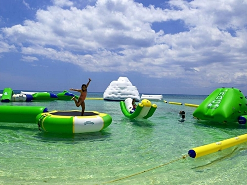 Cozumel Mexico water trampolines Trip Reservations