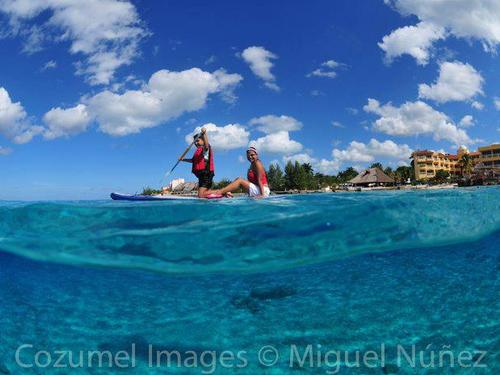 Cozumel Stand Up Paddle Board Excursion At Mr Sanchos