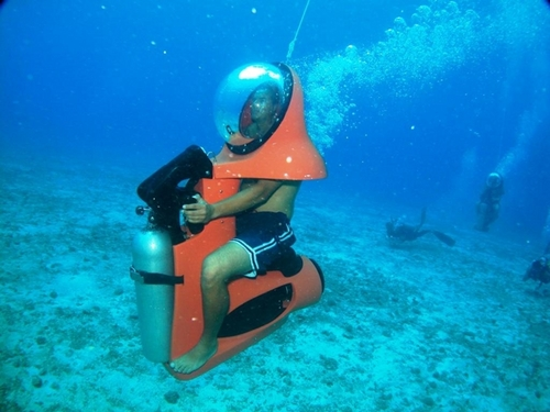 Cozumel underwater scooter Trip Reservations